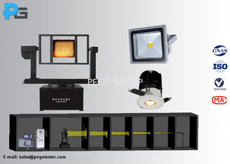 LED Luminaire Goniophotometer Support with Dark Room Design and 12 Month Warranty